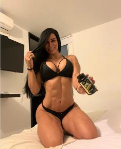 Ana Cozar Rocking Bra And Panties