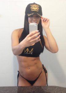 Athletic Babe Selfie