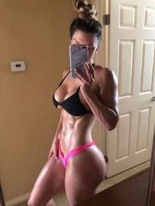 Buff Babe Brittany Perille