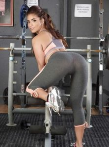 Fit Booty In Yoga Pants