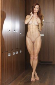 Fit Nude Redhead