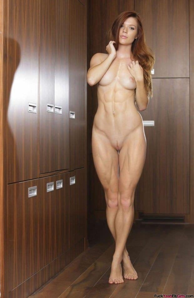 Nude girls fit Athletic Hot