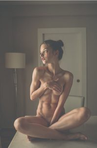 Nude Athletic Babe